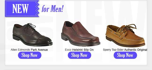 New for Men!